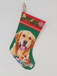 Golden Retriever Christmas Stocking Golden Retriever Gifts, Christmas Stockings, Labrador, Yellow, Holiday Decor, Needlepoint Christmas Stockings, Labradors, Christmas Leggings, Labs