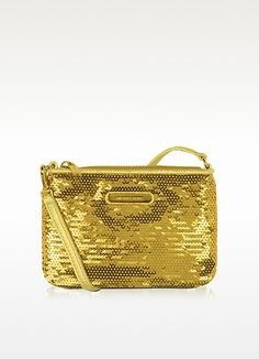 Michael Kors Small Sequined Wristlet