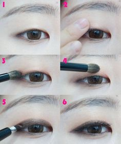 Easy Monolid Eye Makeup Tips & Ideas (With Pictures) Get Easy Monolid Eye Makeup Ideas, Tips, Tutorial, Images. Here are some most beautiful Monolid Eye Makeup Images with Step by Step Pictures. Asian Makeup Tutorials, Korean Makeup Tips, Asian Eye Makeup, Eye Makeup Tips, Beauty Makeup, Makeup Ideas, Makeup Tricks, Makeup Products, Hair Makeup