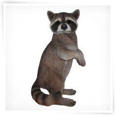 Vivid Arts Standing Raccoon Statue