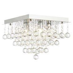 Add some style to your bathroom with the Forum Orlando square flush ceiling light fitting. Ideal for contemporary settings. Ceiling Light Fittings, Bathroom Ceiling Light, Flush Ceiling Lights, Bathroom Lighting, Large Bathrooms, Amazing Bathrooms, Better Bathrooms, Modern Bathroom, Dappled Light