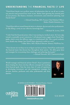 A Financial Prescription for Doctors and Dentists: Strategies for Achieving Your Personal and Career Goals: David I. Katz: 9781478744030: Amazon.com: Books