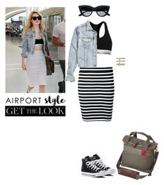 """""""Senza titolo #4792"""" by waikiki24 on Polyvore featuring moda, T By Alexander Wang, Calvin Klein, H&M, Converse, Mountain Khakis, Arme De L'Amour, GetTheLook e airportstyle"""
