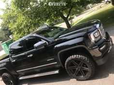 This 2017 GMC Sierra 1500 is running DUB Skillz 30 wheels Amp Terrain Master Mt tires with Fabtech Suspension Lift suspension. Custom Chevy Trucks, Lifted Trucks, Pickup Trucks, Gmc Denali Truck, Gmc Sierra Denali, 2017 Gmc Sierra 1500, Sierra Truck, Single Cab Trucks, Gmc Pickup