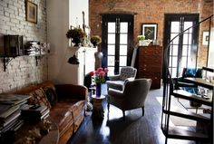 Exposed brick walls will always make me swoon