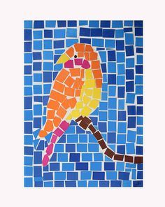 BIRD MOSAIC | Flickr - Photo Sharing!