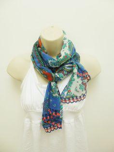 2013 handmade oya scarfInfinity scarf  summer by DREAMSCARFS, $11.00