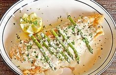 grouper with beer or wine lemon sauce Recipe