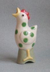 green spotted hen pie funnel - Rachel Bass