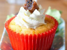 Cupcake gorgonzola et figues