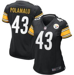 Nike Women's Pittsburgh Steelers Troy Polamalu Home Game Jersey - Dick's Sporting Goods #GiftsThatMatter