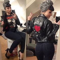 Gefällt 568 Mal, 23 Kommentare - Pin-Up ✦ Kitty Wunderlich (Kitty Blackmore.good) Big Abaddon vibes here today Looks Rockabilly, Mode Rockabilly, Rockabilly Outfits, Rockabilly Fashion, Retro Fashion, Vintage Fashion, Rockabilly Clothing, Pin Up Fashion, Pin Up Outfits