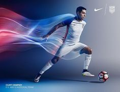 The new @nikefootball #USA home kit is straight fire. Coming soon to #Nikys 3/24 #USMNT