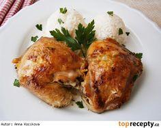 Kuře na másle a česneku Tandoori Chicken, Turkey, Treats, Ethnic Recipes, Fine Dining, Sweet Like Candy, Goodies, Turkey Country, Sweets