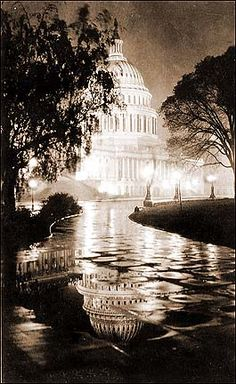 DC Capitol Building in 1930