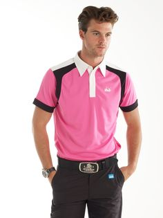 GH   Cmax Rockford Bubblegum Pink - Golf Shirts - Bunker Mentality