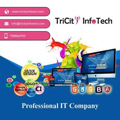 http://Tricityinfotech.com  Amazing #websites designed & to match your #business needs We understand that your website is a vital part of your brand and endeavor to consistently provide our clients great #service For more information get in touch with our #experts at +91 7988667110
