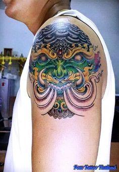 Thailand Tattoo, Thai Style, Asian, Tattoos, Thai Tattoo, Tatuajes, Thai Decor, Tattoo, Tattos
