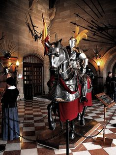 Jousting Horse with Armour and Knight by FatBloke UK, via Flickr