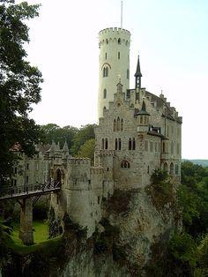 Lichtenstein castle, Black forest    Lichtenstein castle, in the Black Forest, Baden-Wurtemberg, Germany - i wanna live here! :D