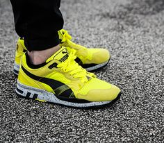 Puma Trinomic XT2 Plus – Yellow / Black (Mesh Evolution 2)