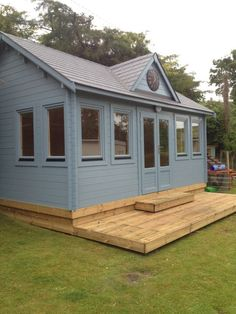 Photo gallery of log cabins, garden home offices, garden & leisure buildings, designed and installed by Creative Living Cabins, Surrey. Garden Home Office, Home And Garden, Garden Buildings, Surrey, Pavilion, Tiny House, This Is Us, Photo Galleries, Shed