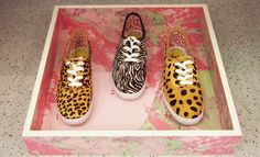 LOOK 1 - Keds for Opening Ceremony Champion Leopard Shoes $125.00   LOOK 2 - Keds for Opening Ceremony Champion Zebra Shoes $125.00  LOOK 3 - Keds for Opening Ceremony Champion Cheetah Shoes $125.00