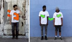People Skewered with Geometric Shapes by Aakash Nihalaniby