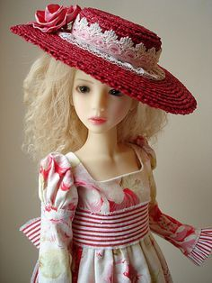 how to make doll hats - Google Search