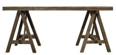 ZENA+TRESTLE+TABLE.+A+Block+and+Chisel+Product. Trestle Table, Dining Table, Rowan, Furniture, Home Decor, Style, Swag, Decoration Home, Room Decor