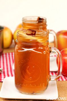 4-spiced apple cider