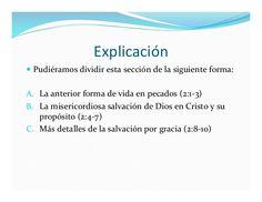 Explicación     — Pudiéramos  dividir  esta  sección  de  la  siguiente  forma:      A. La  ant...