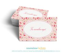 Printable BUSINESS CARDS Shabby Chic Design by ImprimeTuFiesta