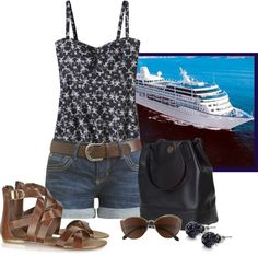 """Cruise Wear!"" by christa72 ❤ liked on Polyvore"