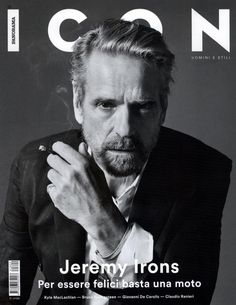 Jeremy Irons Covers Icon Panorama, Discusses Passion for Motorcycle Tours
