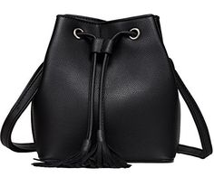 "New Trending Shopper Bags: Bucket Bag Small Leather Bucket Bags Crossbody Shoulder Drawstring Purse Handbags for Women Mothers Day Gift (Black). Bucket Bag Small Leather Bucket Bags Crossbody Shoulder Drawstring Purse Handbags for Women Mother's Day Gift (Black)   Special Offer: $18.99      477 Reviews Package Includes : 1 PCS x Small Bucket Bag Specifications : 1)Bucket Bag Size: 8.6""x7.20""x3.80"" ..."