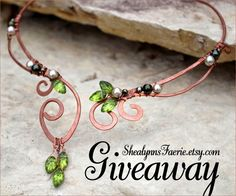 Elvish #Jewelry #Giveaway! Enter to win $25 gift card to @shealynnsfaerie by 11:59pm EST on August 5, 2014.