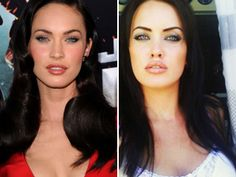 megan fox look alike...She's prettier than Megan Fox!