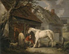 A Farrier's Shop  George Morland (1763–1804)