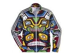 reputable site 84cc7 1f247 adidas Originals by Jeremy Scott ObyO JS Eagle Totem Track Top