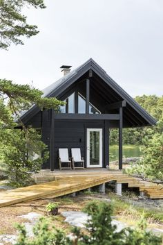 An ecological log home is the perfect addition to any natural environment. Honka Saari collection.
