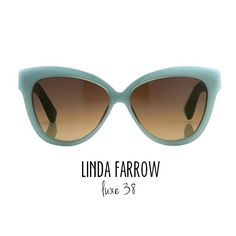 4101cd8e9930  LINDAFARROW  Snake-coated  cat  eye  sunglasses