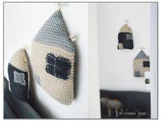 maisons en tricot, adorables!
