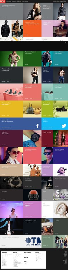 We've been addicted to grid layouts. It's nice to find good inspiration. These types of layouts are good for products, portfolios, and services.