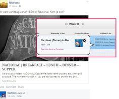 Binnenkort lanceert L1NDA een functie die het mogelijk maakt om op een veilige manier je dienst op Facebook te delen!