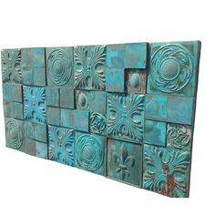 Atölye Mia Özel Tasarım El Yapımı Seramik Duvar Panosu Turkuaz ürününü %33 indirimle hemen satın alın!