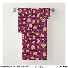 Bath Towel Sets, Bath Towels, Surface Pattern Design, Cute Pattern, Artwork Design, Print Design, Create Your Own, Vibrant, Prints