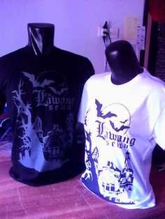 Cool and awesome Customized Design Shirt for Couple - Penyu Kaos Semarang