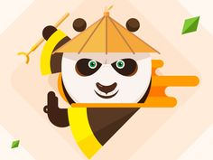 Kung Fu Panda - 01 designed by Vikiiing.