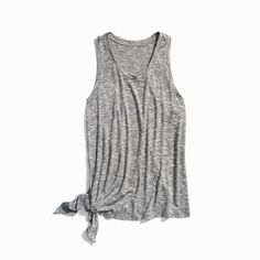 Loose fit casual tank